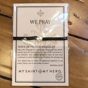 "My Saint My Hero ""We Pray"" Bracelet"